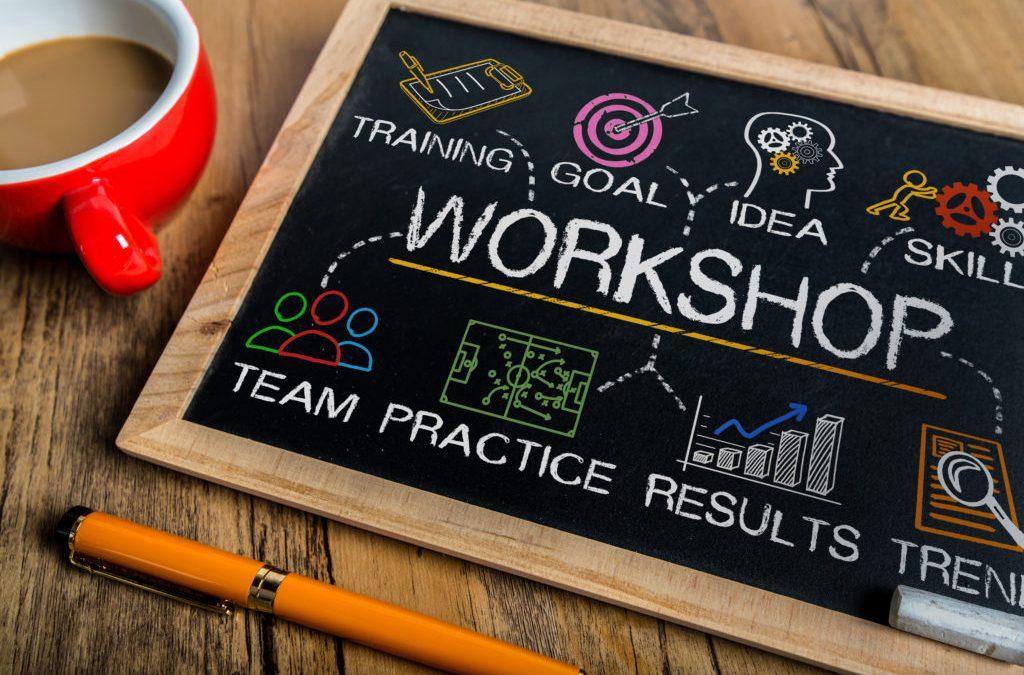 workshop maken op schoolbord